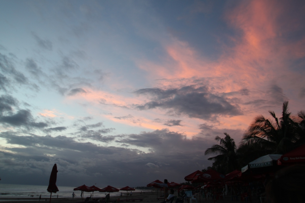 Sunset Legian Beach