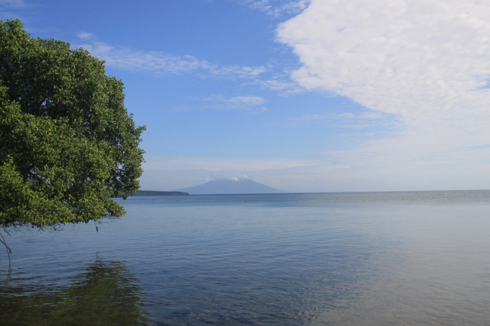 View of Java from the Resort
