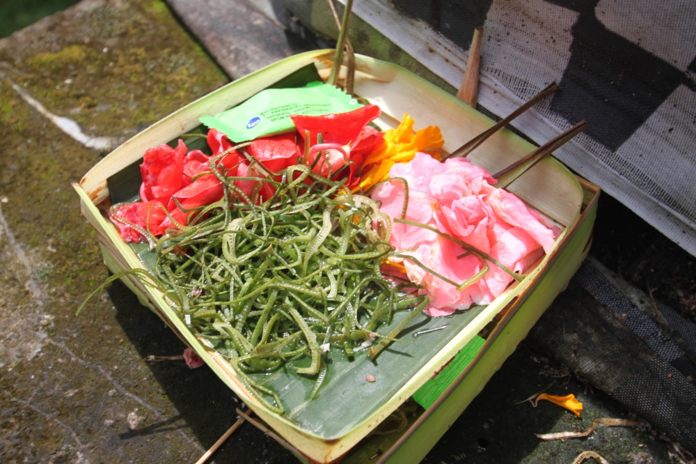 A Balinese Prayer Offering