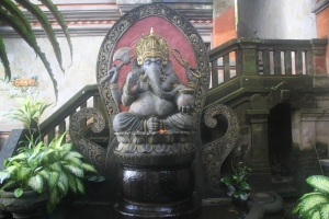 Ganesha Shrine
