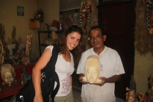 Michelle and Ketut