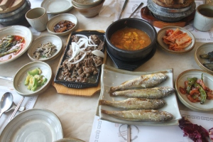 Cudder Fish is traditional Korean Food